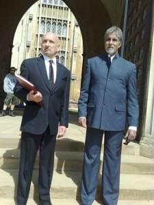 Ben Kingsley & Amitabh Bachchan