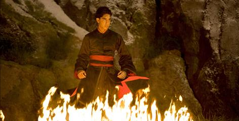 dev patel in airbender