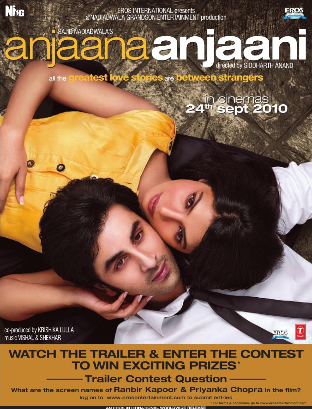Anjaana Anjaani (2010) Hindi Indian