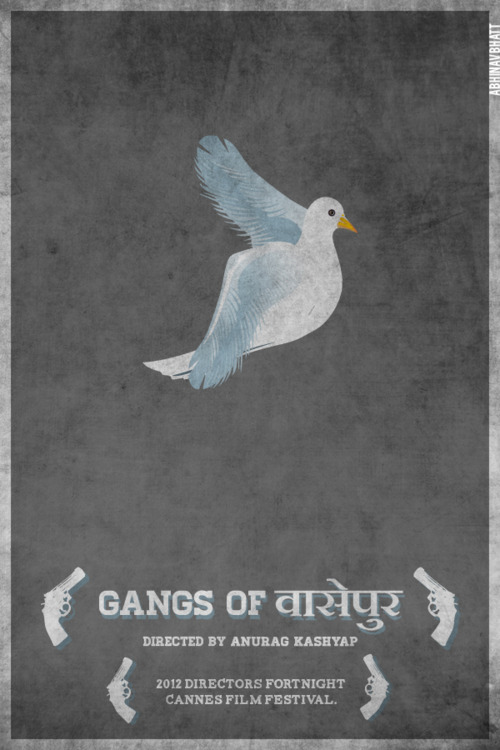 Gangs Of Wasseypur Minimal Movie Poster by Abhinav Bhatt