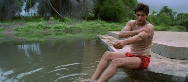 Swades: Feet in water