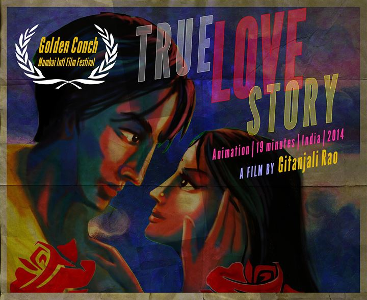 Gitanjali Rao's True Love Story : Poster, Trailer  Watch her