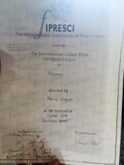 FIPRESCI citation