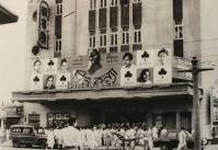 """Teen Kanya"" opens at Kolkata's Bharati Cinema during the Birth Centenary of Tagore, May 5, 1961"