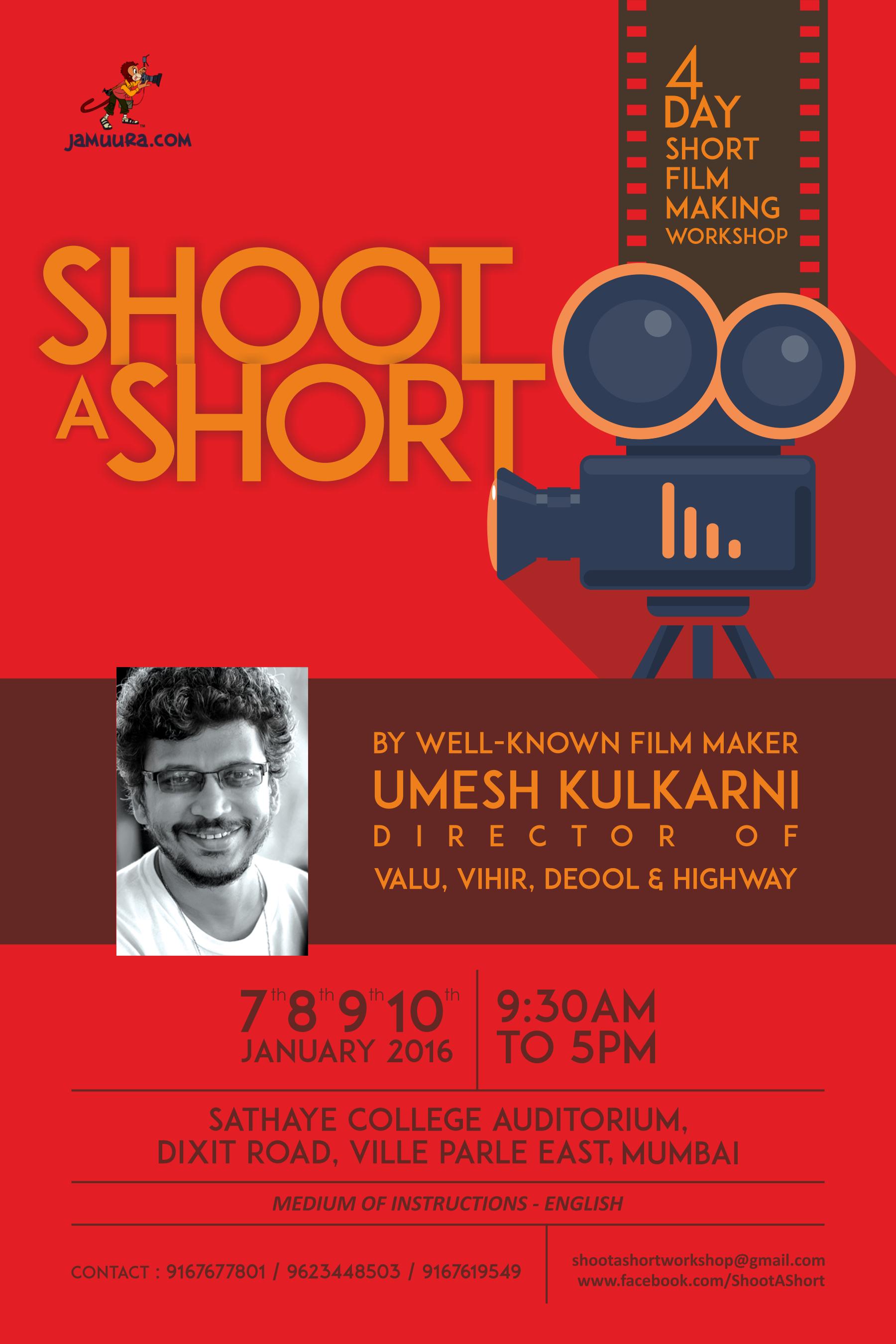 Call For Entries Umesh Kulkarnis Filmmaking Workshop Fight