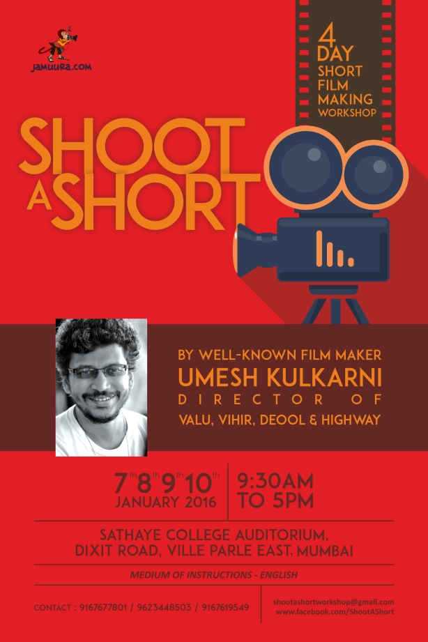 shoot a short poster