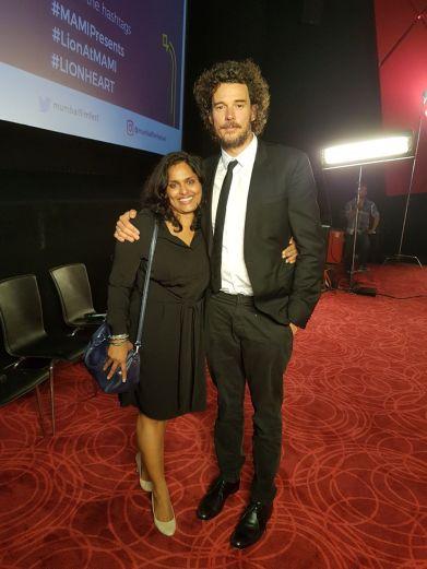 Tess Joseph with Garth Davis